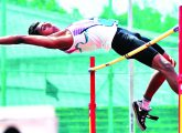 aromal t_ boys high jump_ second_ kerala.