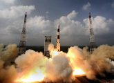Sriharikota: India successfully launched  its first mission to Mars on board PSLV C25 from Satish Dhawan Space Centre (ISRO) at Sriharikota in Andhra Pradesh on Tuesday. The mission is expected to reach Mars orbit by September 24, 2014. PTI Photo/ISRO (PTI11_5_2013_000241A)