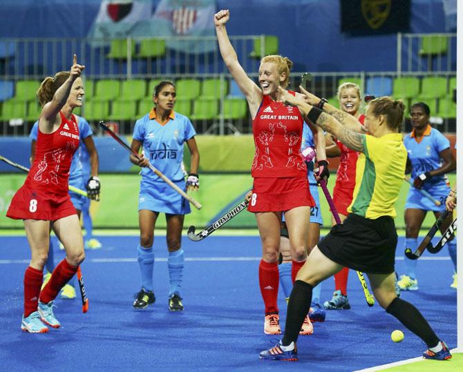 Hockey women india rio 2016