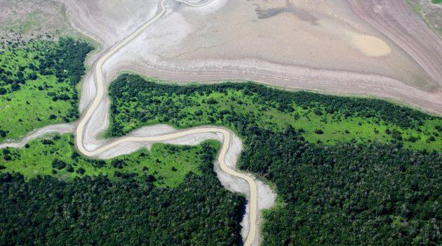 2010 ല് ഉണ്ടായ വലിയ വരള്ച്ചയാണ് ആമസോണിനെ വലിയ ഭീഷണിയിലാക്കിയത്. 100 വര്ഷത്തിനിടെ ആമസോണിനെ പിടികൂടിയ ഏറ്റവും വലിയ വരള്ച്ചയായിരുന്നു ഇത്.