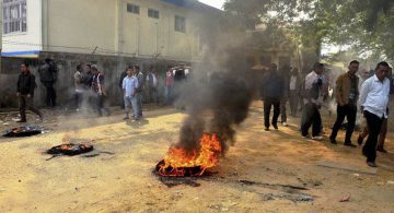 Protest in Nagaland